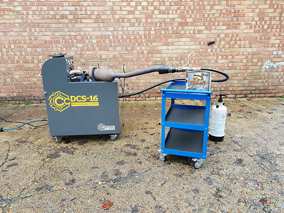 dpf cleaning machine